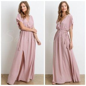 🆕️Beautiful Blush Color Maxi Dress